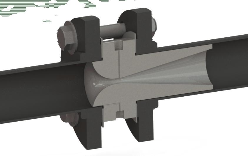 Fox flange-insert style DP venturi flowmeters