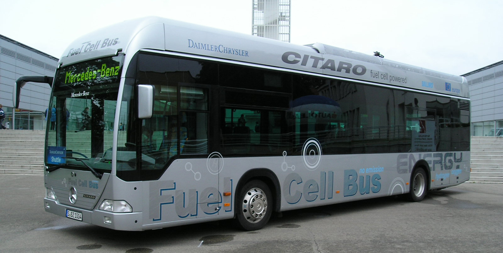 Fox provided about 100 ejector sets that were installed into a valve block – with integral solenoid and check valves, which were installed on the dozens of CITARO fuel cell busses that operated in Europe.