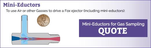 Mini-Eductor Data Sheet