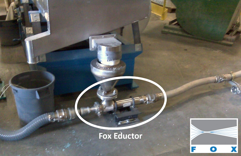 Fox Eductor under Screener